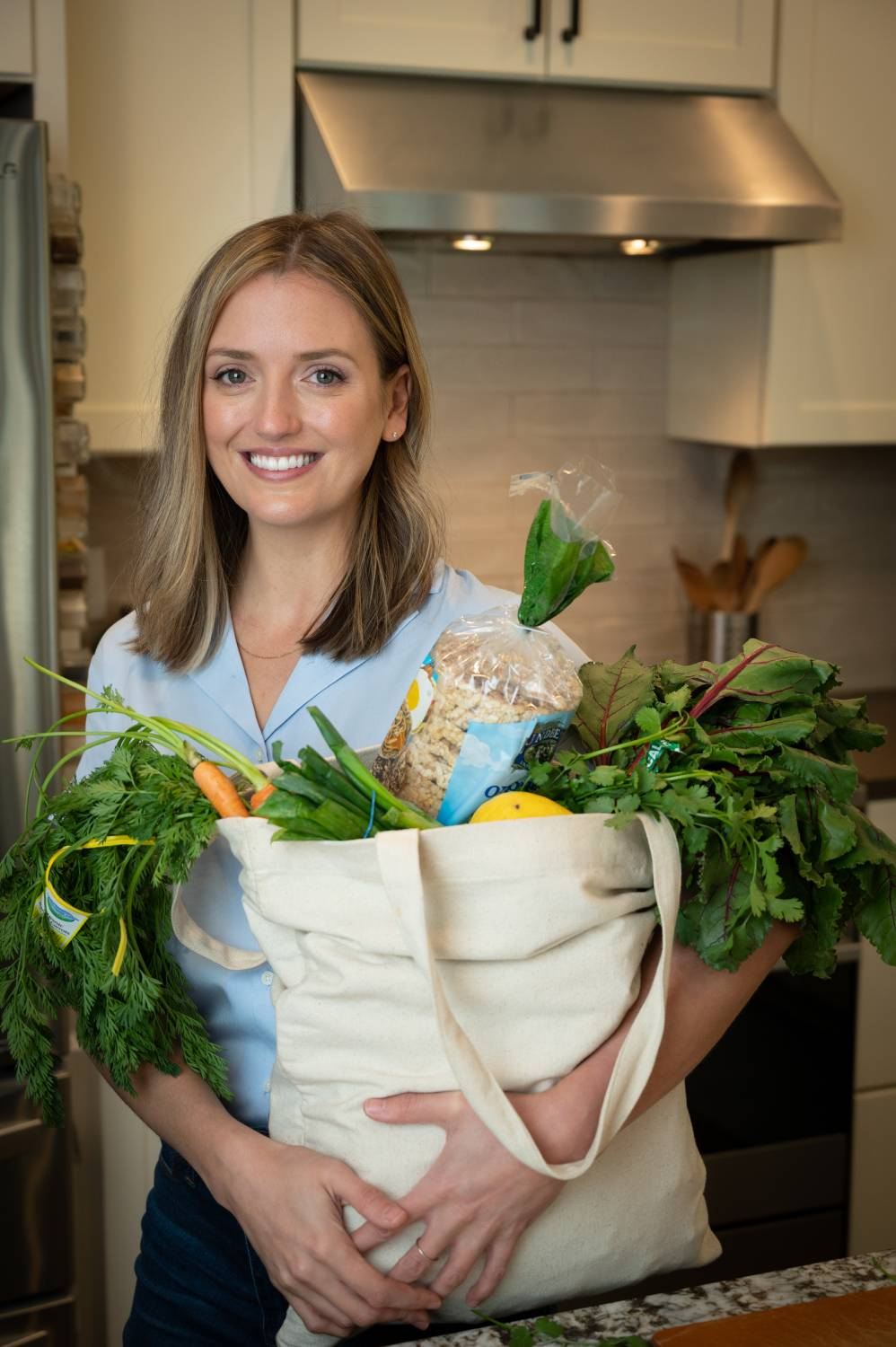 Katy Alstat, MScN, the nutritionist and health coach